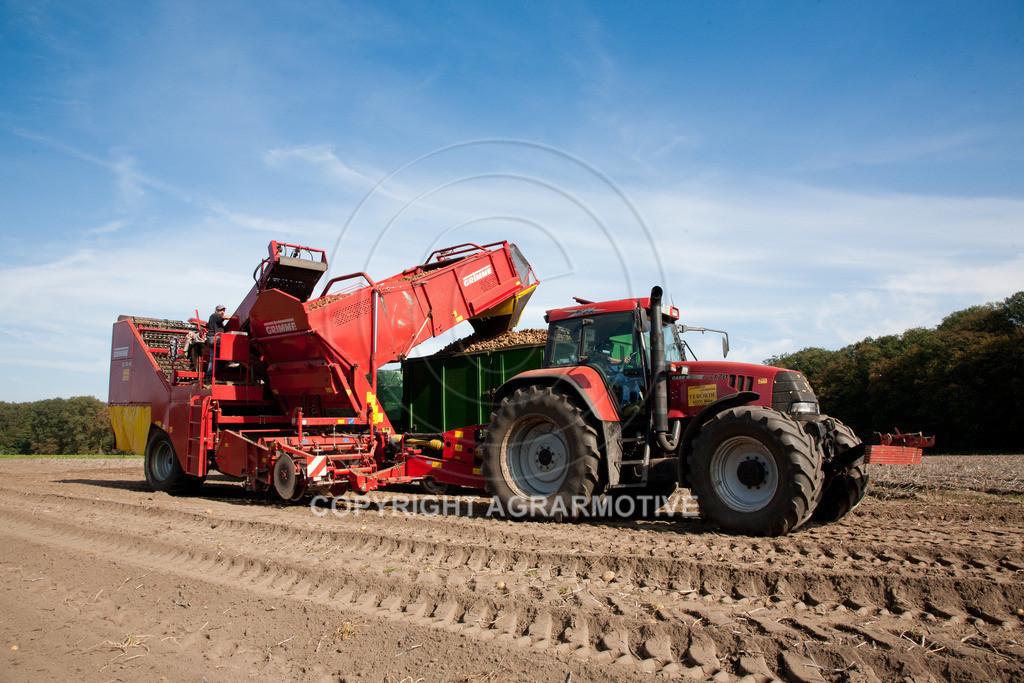 20110929-IMG_5833 | Ernte auf einem Kartoffelfeld - AGRARBILDER