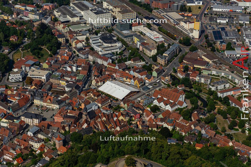 bierfest-2019-kulmbach-19-687 | aktuelles Luftbild von Bierfest-2019  Kulmbach - Luftaufnahme wurde 2019 von https://frankenair.de mittels Flugzeug (keine Drohne) erstellt.