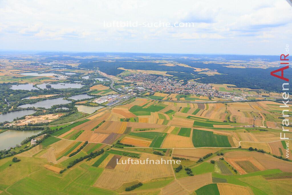 bischberg-2016-3941 | Luftbild von  Bischberg - Luftaufnahme wurde 2016 von https://frankenair.de mittels Flugzeug (keine Drohne) erstellt - die Geschenkidee