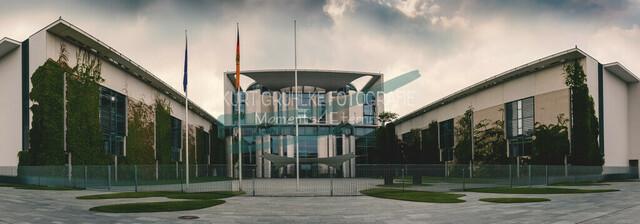 Berlin, Regierungsviertel, Kanzleramt   Panorama