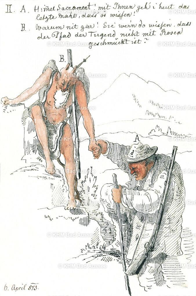 Ritter_B13 | Mühevolles Bergwandern