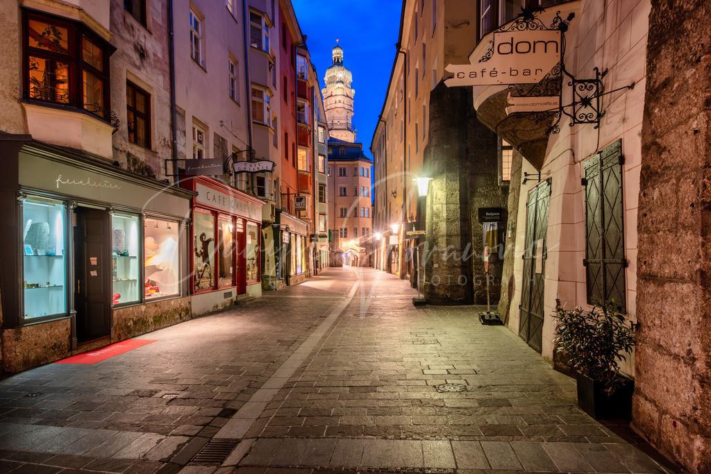 Altstadt | Die Pfarrgasse in der Innsbrucker Altstadt