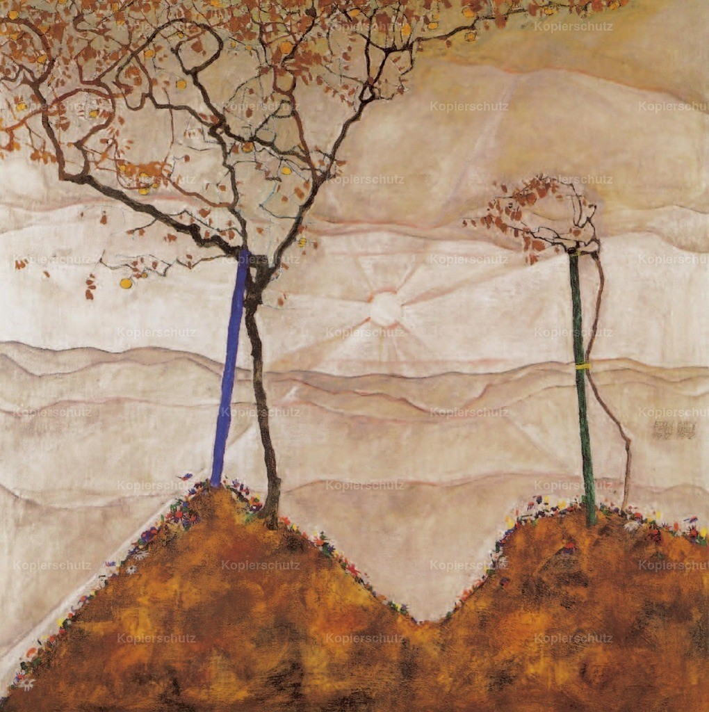 Schiele_ Egon (1890-1918) - Autumn Sunrise 1912