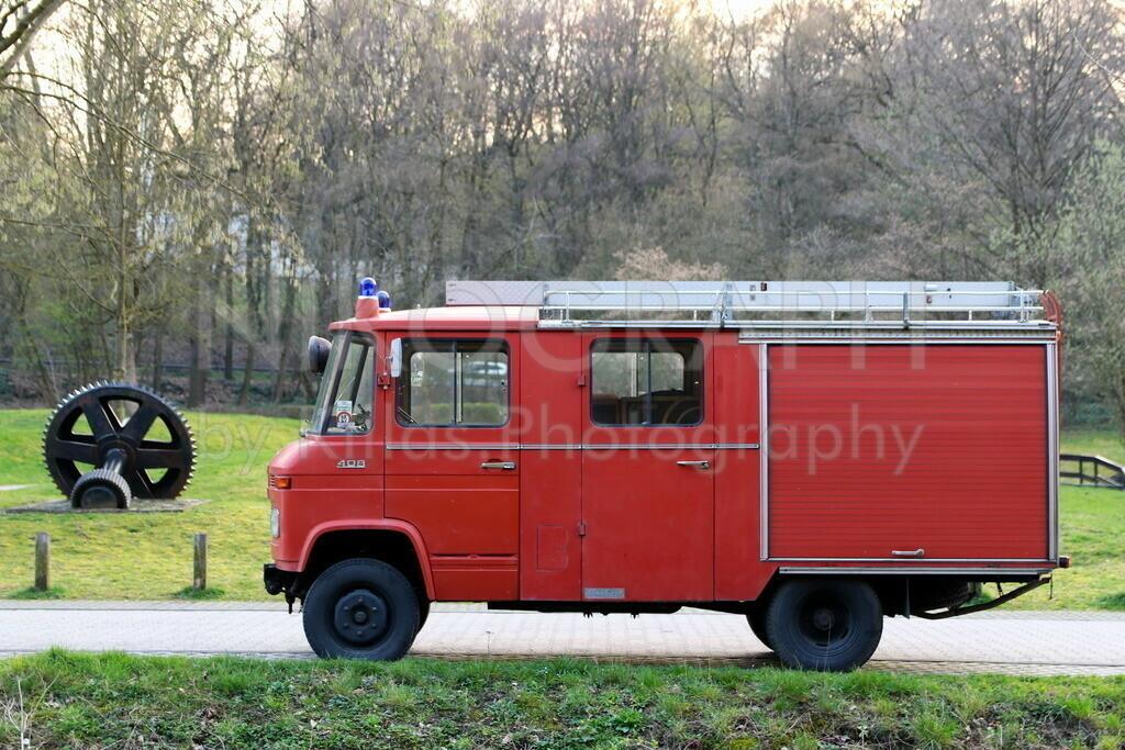 Feuerwehr Oldtimer   Ein Feuerwehr Oldtimer im Barendorf / Iserlohn.