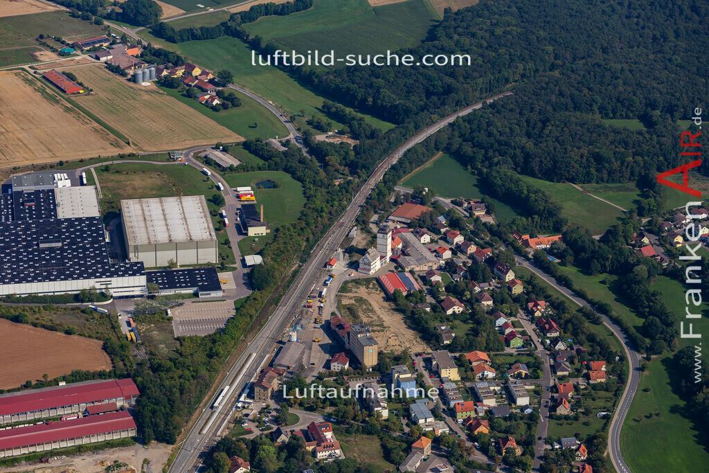 uffenheim-19-757 | aktuelles Luftbild von  Uffenheim - Luftaufnahme wurde 2019 von https://frankenair.de mittels Flugzeug (keine Drohne) erstellt.