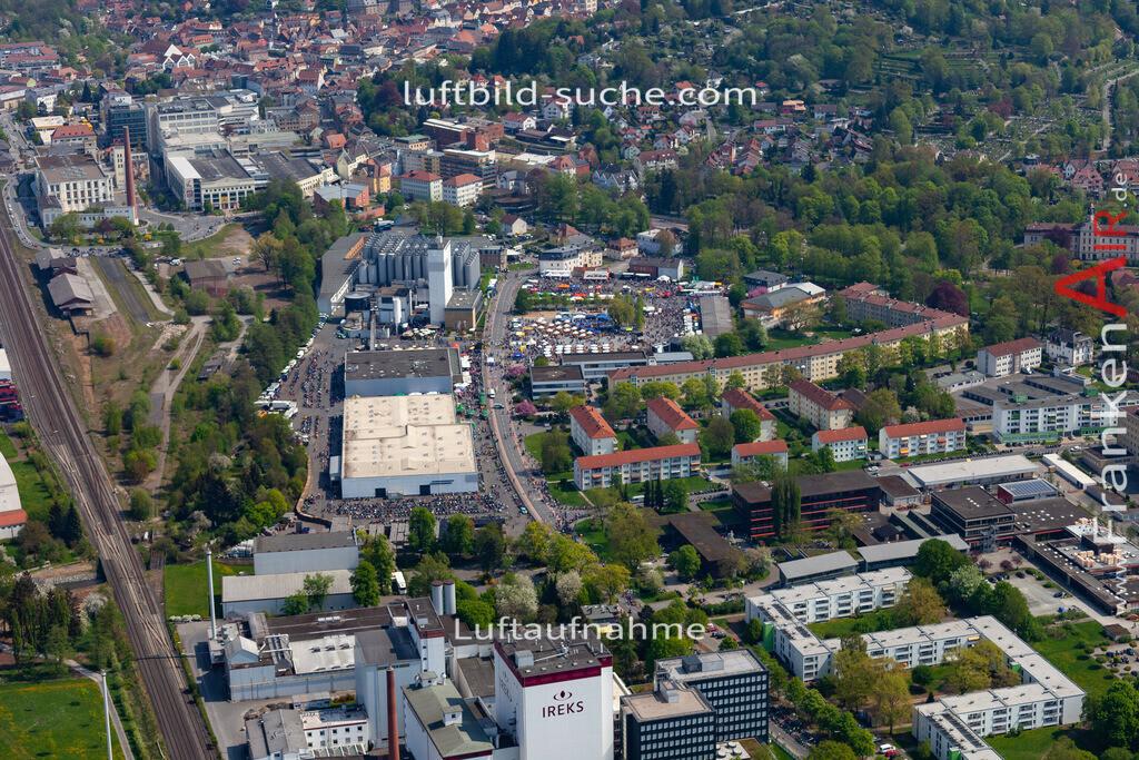 kulmbach-18-60 | aktuelles Luftbild von  Kulmbach - Luftaufnahme wurde 2018 von https://frankenair.de mittels Flugzeug (keine Drohne) erstellt.