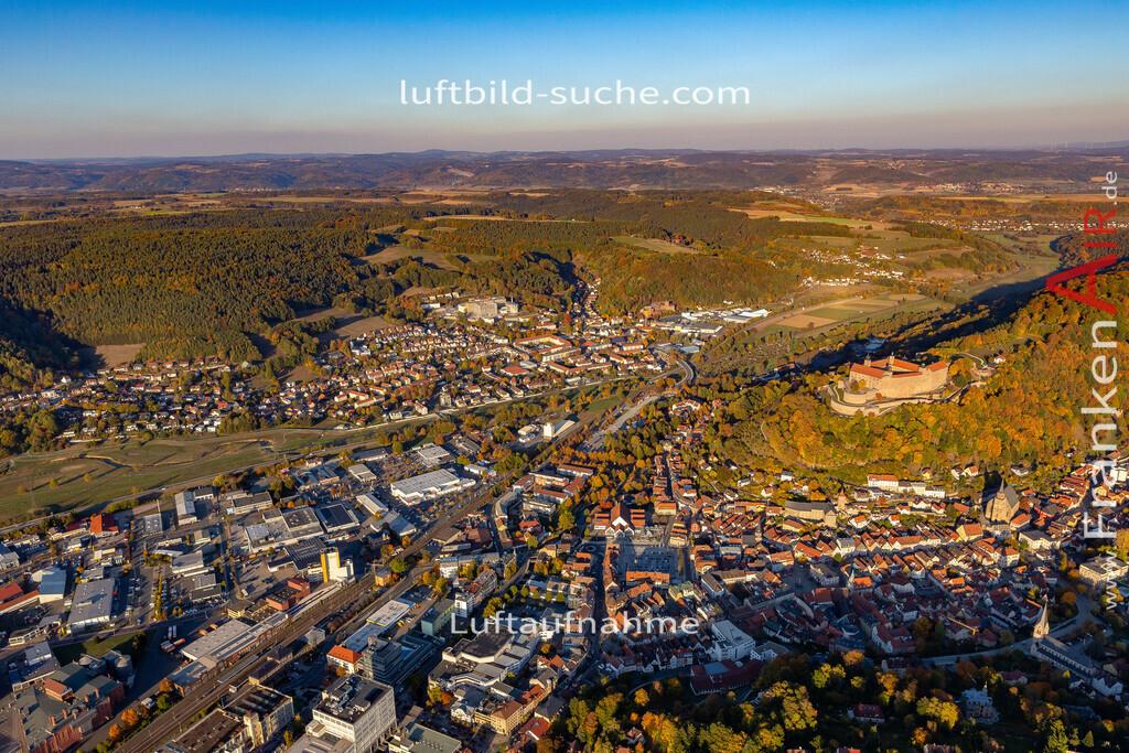 obere-stadt-kulmbach-18-375 | aktuelles Luftbild von Obere-stadt Kulmbach - Luftaufnahme wurde 2018 von https://frankenair.de mittels Flugzeug (keine Drohne) erstellt.