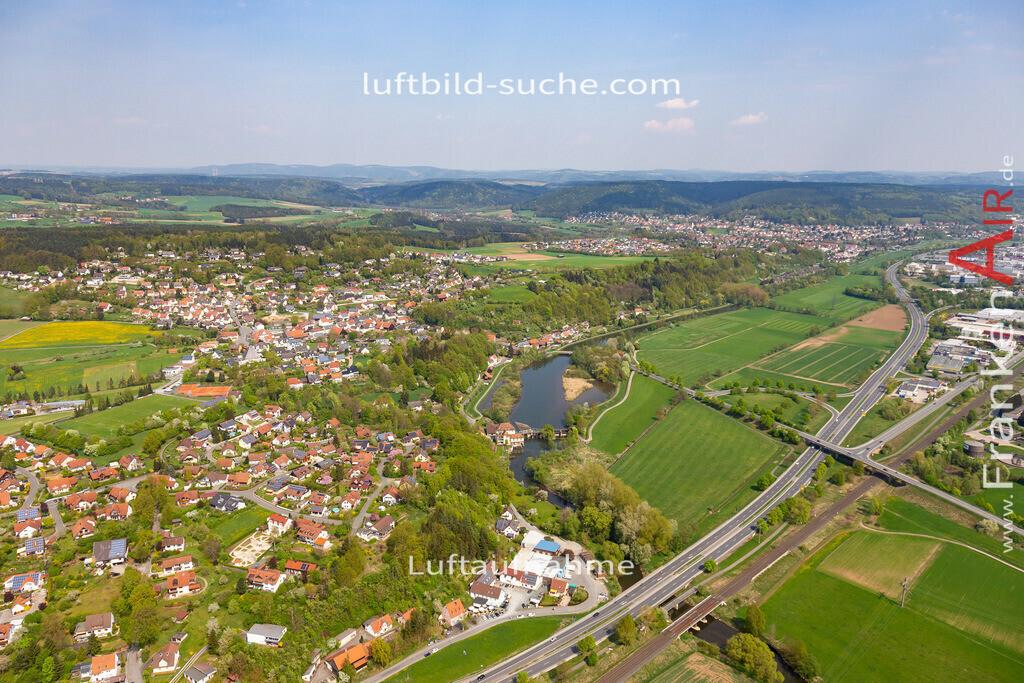 burghaig-kulmbach-18-238   aktuelles Luftbild von Burghaig Kulmbach - Luftaufnahme wurde 2018 von https://frankenair.de mittels Flugzeug (keine Drohne) erstellt.