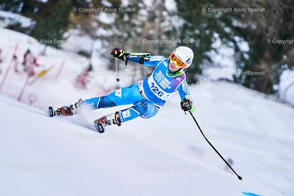 ALS5812_WWMG_GS-II_C | (C) FotoLois.com, Alois Spandl, WinterWorldMastersGames 2020 Innsbruck, Giant Slalom-II Gruppe C Damen, Patscherkofel Olympiaabfahrt, Mi 15. Jänner 2020.