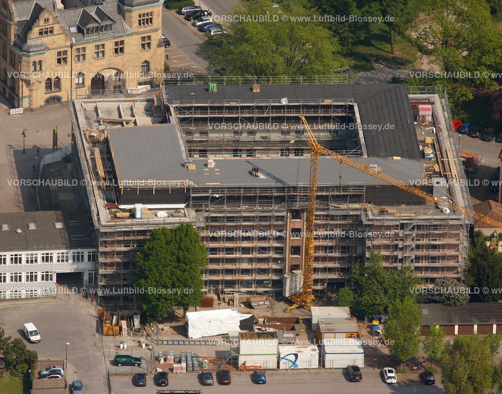 RE11046287 | Behoerdenhaus, Rathaus,  Recklinghausen, Ruhrgebiet, Nordrhein-Westfalen, Germany, Europa