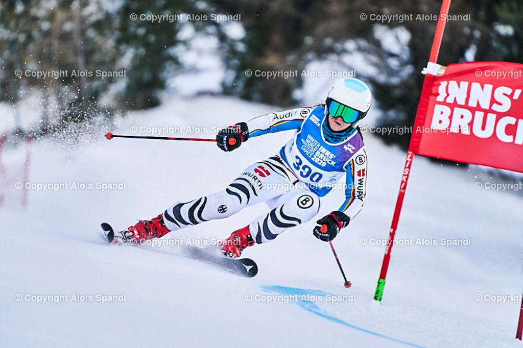 ALS5628_WWMG_GS-II_C | (C) FotoLois.com, Alois Spandl, WinterWorldMastersGames 2020 Innsbruck, Giant Slalom-II Gruppe C Damen, Patscherkofel Olympiaabfahrt, Mi 15. Jänner 2020.