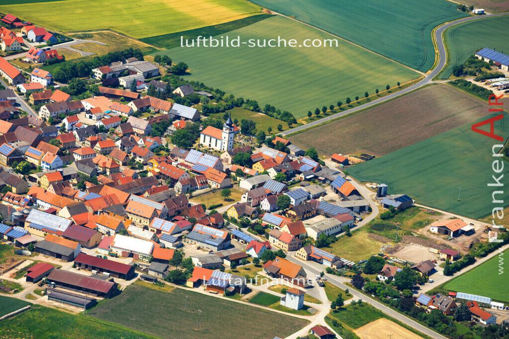 krautostheim-sugenheim-2015-4687 | Luftbild von Krautostheim Sugenheim - Luftaufnahme wurde 2015 von https://frankenair.de mittels Flugzeug (keine Drohne) erstellt - die Geschenkidee