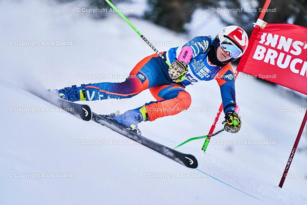 ALS5944_WWMG_GS-II_C | (C) FotoLois.com, Alois Spandl, WinterWorldMastersGames 2020 Innsbruck, Giant Slalom-II Gruppe C Damen, Patscherkofel Olympiaabfahrt, Mi 15. Jänner 2020.
