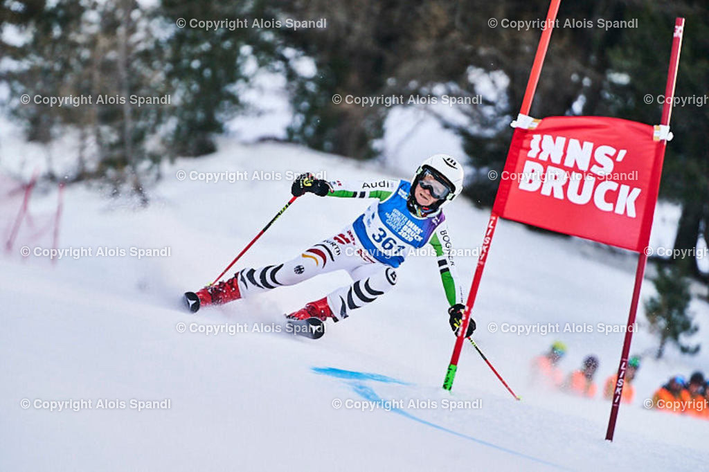 ALS5450_WWMG_GS-II_C | (C) FotoLois.com, Alois Spandl, WinterWorldMastersGames 2020 Innsbruck, Giant Slalom-II Gruppe C Damen, Patscherkofel Olympiaabfahrt, Mi 15. Jänner 2020.