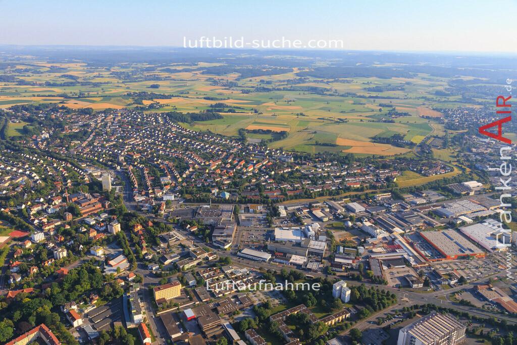 kulmbach-2015-1799 | Luftbild von  Kulmbach - Luftaufnahme wurde 2015 von https://frankenair.de mittels Flugzeug (keine Drohne) erstellt - die Geschenkidee