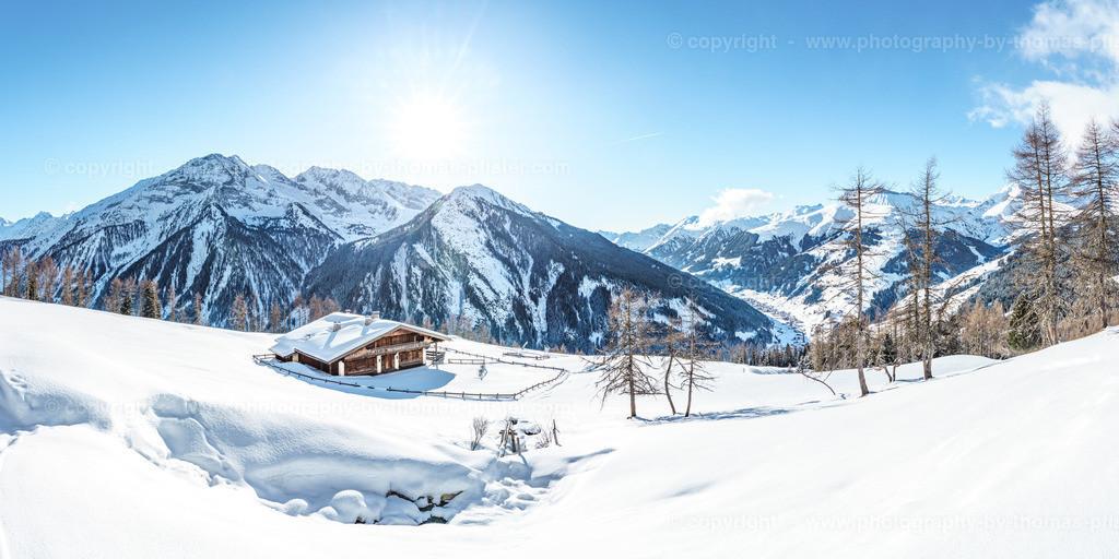 Schrofenalm Tux im Winter-6
