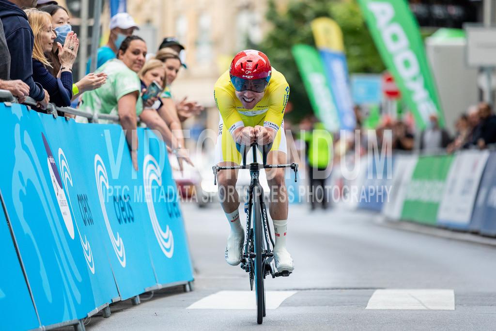81st Skoda-Tour de Luxembourg 2021   81st Skoda-Tour de Luxembourg 2021, Stage 4 ITT Dudelange - Dudelange; Dudelange, 17.09.2021: HIRSCHI Marc (UAE-Team Emirates, 5)
