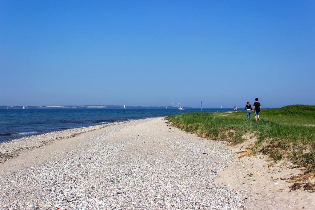 Strand in Langballigau | Strand in Langballigau im Frühling