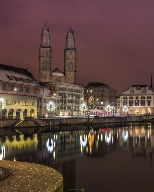 Adventszeit   Adventszeit in Zürich