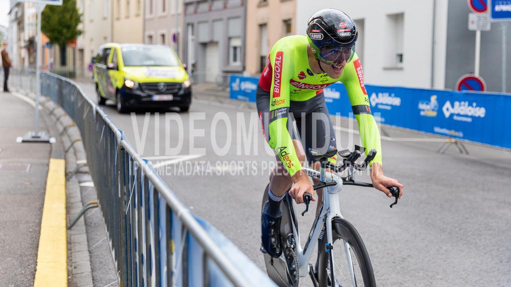 81st Skoda-Tour de Luxembourg 2021 | 81st Skoda-Tour de Luxembourg 2021, Stage 4 ITT Dudelange - Dudelange; Dudelange, 17.09.2021: WIRTGEN Tom (Bingoal Pauwels Sauces WB, 106)