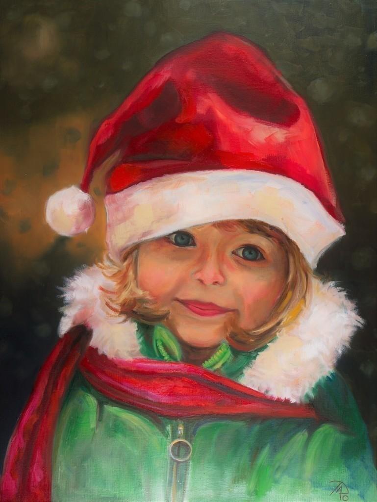 Frohe Weihnachten | Originalformat: 80x60cm  -  Produktionsjahr: 2010