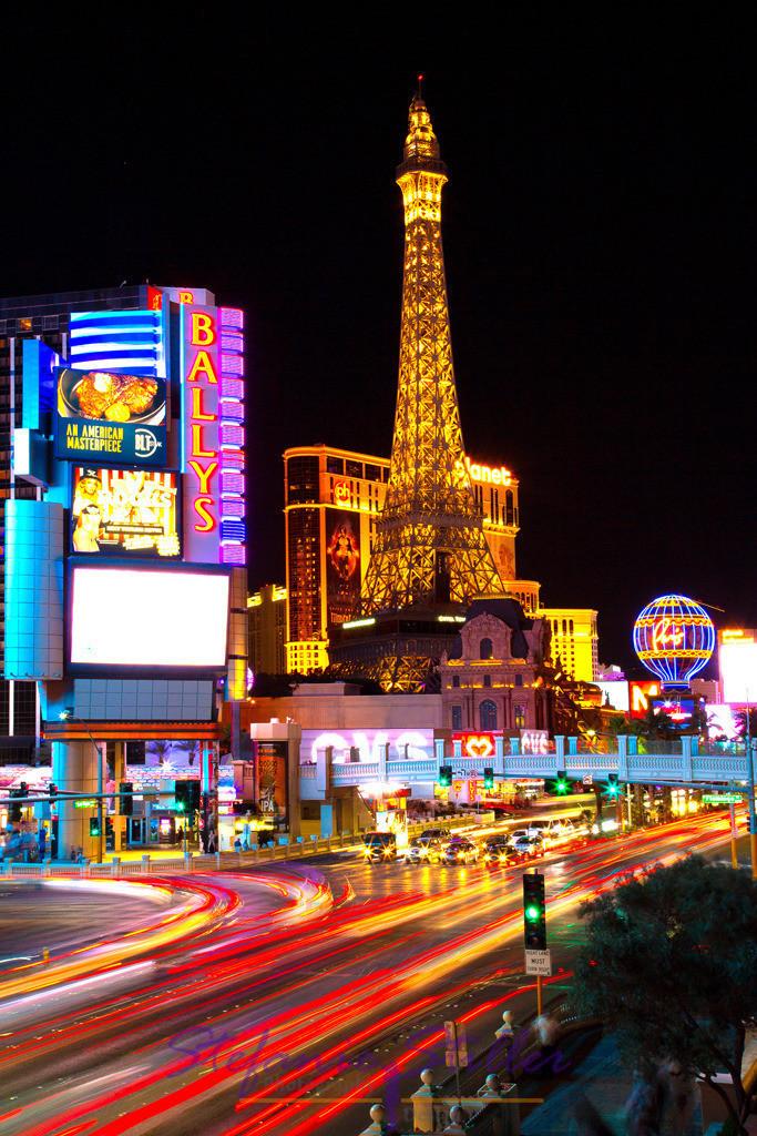 Las Vegas nächtliche Straßen | Lights of Las Vegas