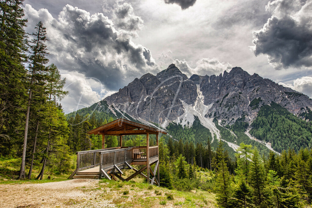 Serles | Aussichtsplattform auf die Serles in Mieders