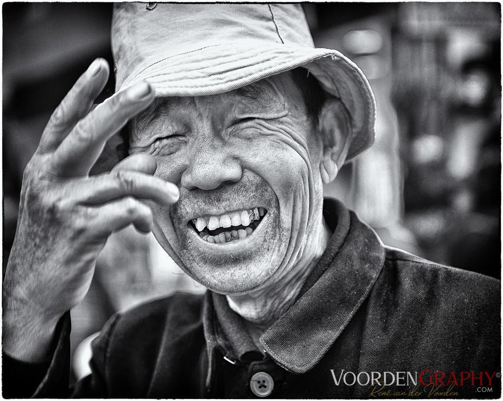 Freundlicher Chinese