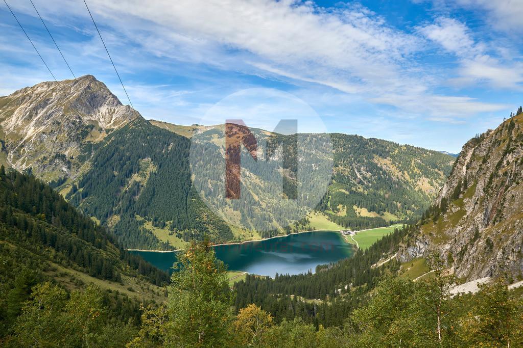 Wanderweg von der Traualpe zum Vilsalpsee, Tannheimertal, Tirol, Österreich