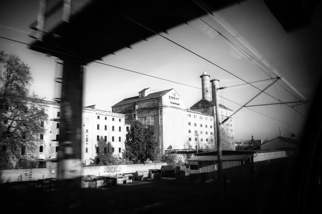 Dresden Alte Malzfabrik | Alte Malzfabrik in Niedersedlitz.  Aus der Serie