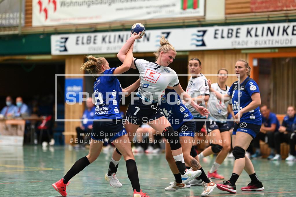 FZ6_9203   ; 1. Bundesliga Frauen I 1. Spieltag I Buxtehuder SV - Neckarsulmer Sport-Union am 05.09.2020 in Buxtehude  (Sporthalle Kurt-Schuhmacher Strasse), Deutschland
