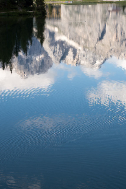 Lago di Misurina Südtirol Landschaft | ITA, Italien, Südtirol, Dolomiten, Sella Rondo, 15.07.2014, Lago di Misurina Südtirol Landschaft