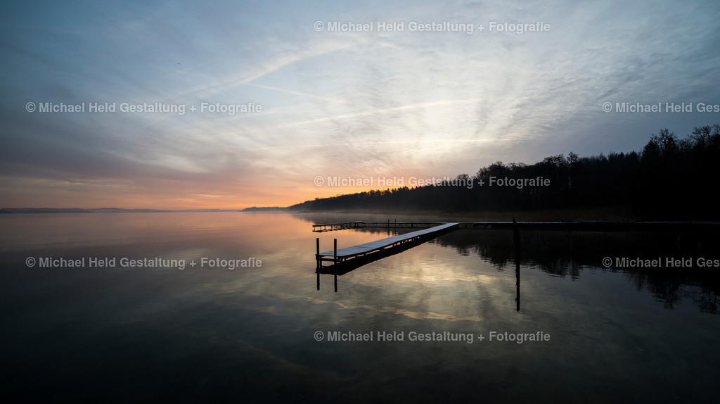 12 Dezember | Grabensee | Bootssteg an der Badestelle Grabensee bevor die Sonne aufgeht