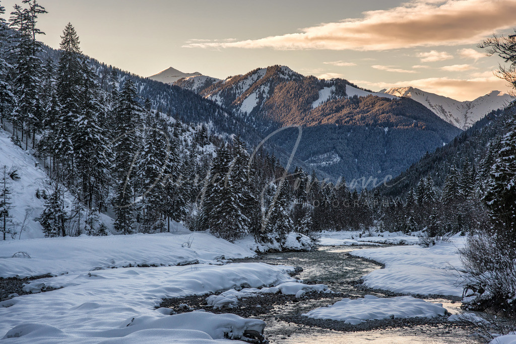 Winter am Ahornboden   Wunderbarer Winter am Ahornboden im Karwendel