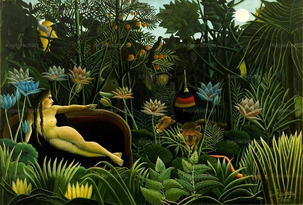 Rousseau_ Henri (1844-1910) - The Dream 1910