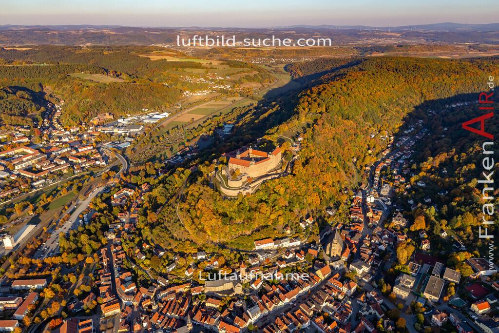 plassenburg-kulmbach-18-380 | aktuelles Luftbild von Plassenburg Kulmbach - Luftaufnahme wurde 2018 von https://frankenair.de mittels Flugzeug (keine Drohne) erstellt.