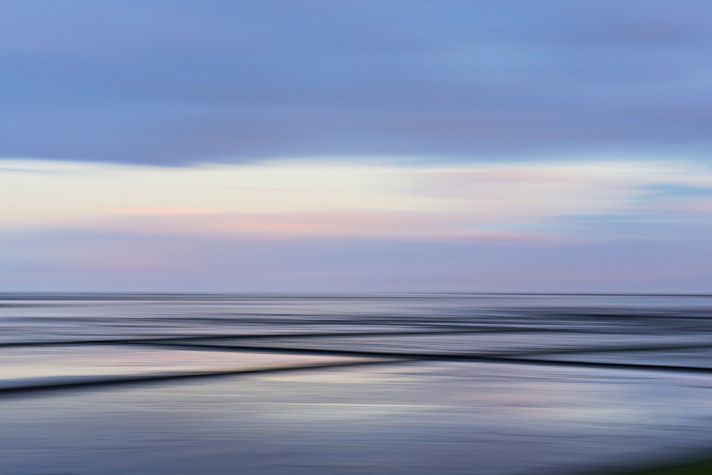 Morgenimpression Wattenmeer | Morgenimpression am Wattenmeer, Sylt
