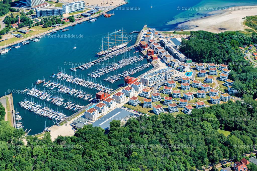 Travemünde Priwall_ELS_0726160620 | Travemünde - Aufnahmedatum: 16.06.2020, Aufnahmehöhe: 436 m, Koordinaten: N53°56.995' - E10°52.302', Bildgröße: 8256 x  5504 Pixel - Copyright 2020 by Martin Elsen, Kontakt: Tel.: +49 157 74581206, E-Mail: info@schoenes-foto.de  Schlagwörter:Schleswig-Holstein,Priwall,Luftbild, Luftbilder, Deut