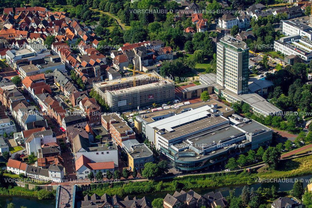 Luenen15071906 | Blick auf den Stadtkern von Lünen mit dem Umbau des Hertie-Hauses, Lünen, Ruhrgebiet, Nordrhein-Westfalen, Deutschland