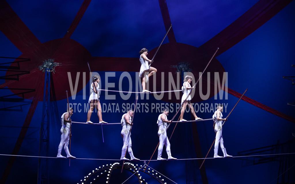 Neuss - June 19, 2019: Zirkus Krone - Mandana   Neuss - June 19, 2019: Zirkus Krone - Mandana