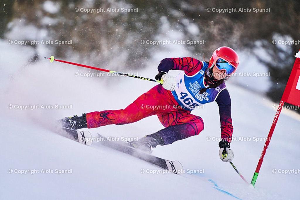ALS6022_WWMG_GS-II_C | (C) FotoLois.com, Alois Spandl, WinterWorldMastersGames 2020 Innsbruck, Giant Slalom-II Gruppe C Damen, Patscherkofel Olympiaabfahrt, Mi 15. Jänner 2020.