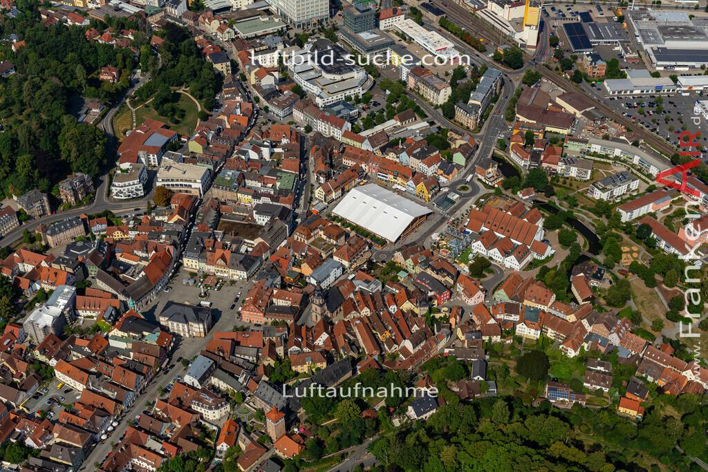 bierfest-2019-kulmbach-19-692 | aktuelles Luftbild von Bierfest-2019  Kulmbach - Luftaufnahme wurde 2019 von https://frankenair.de mittels Flugzeug (keine Drohne) erstellt.