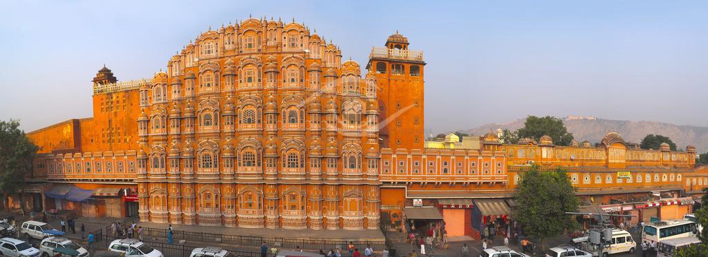 Indien_ Jaipur - Palast der Winde