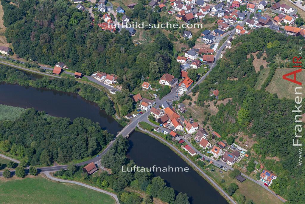 burghaig-19-531   aktuelles Luftbild von Burghaig   - Luftaufnahme wurde 2019 von https://frankenair.de mittels Flugzeug (keine Drohne) erstellt.