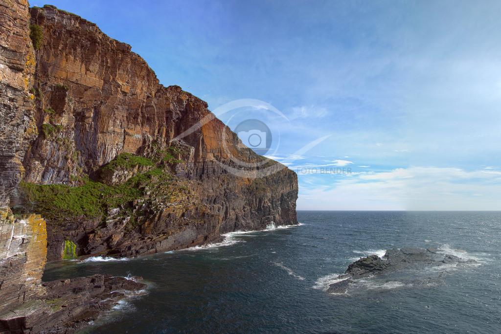 Schottland_ Whaligoe Steps-Seaview