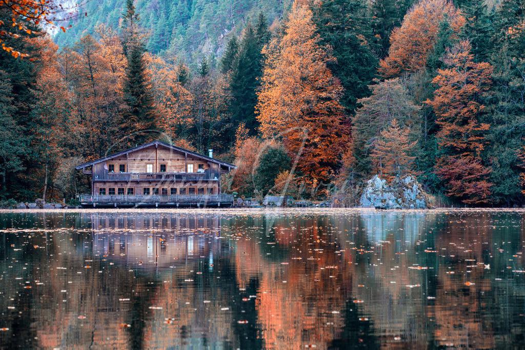 Berglsteinersee | Herbst am Berglsteinersee