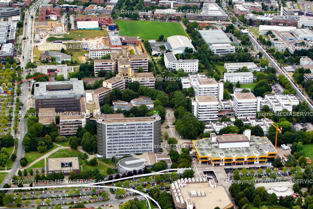 2012-08-28 Fotoflug Dortmund | Luftbildflug Dienstag, 28. August 2012 Deutschland, Nordrhein-Westfalen, Dortmund, Dorstfeld, TU-Dortmund. Foto: Michael Printz / PHOTOZEPPELIN.COM