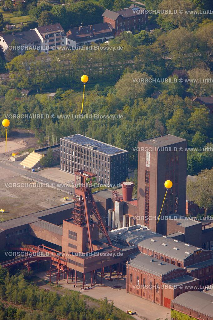 ES10056363 | Zollverein 12/6/8 Weltkulturerbe, Zollverein 3/7/10, Schachtzeichen ruhr2010,  Essen, Ruhrgebiet, Nordrhein-Westfalen, Deutschland, Europa, Foto: hans@blossey.eu, 22.05.2010