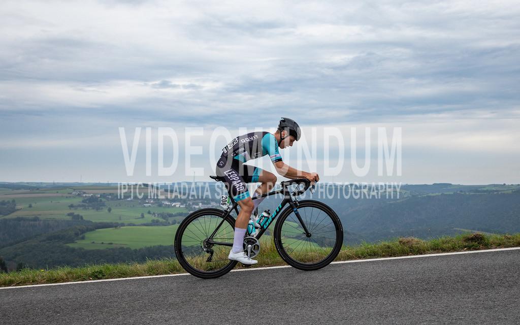 81st Skoda-Tour de Luxembourg 2021 | 81st Skoda-Tour de Luxembourg 2021, Stage 1 Luxembourg - Luxembourg; Bourscheid, 14.09.2021: TEUTENBERG Tim Torn (Leopard Pro Cycling, 206) am GPM Bourscheid