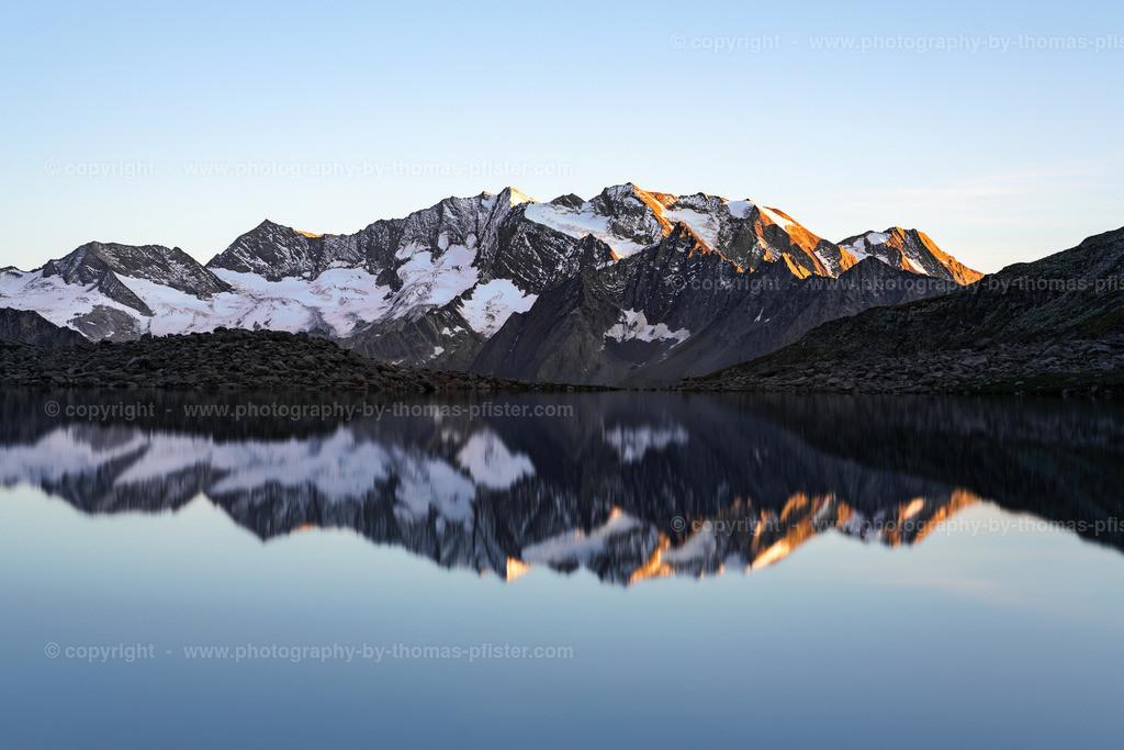 Friesenbergsee Zillertaler Alpen Hochfeiler-4